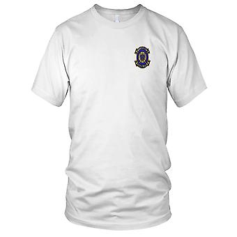 USMC Marines Air Support VMFA-212 Lancers - Military Vietnam War Embroidered Patch - Mens T Shirt