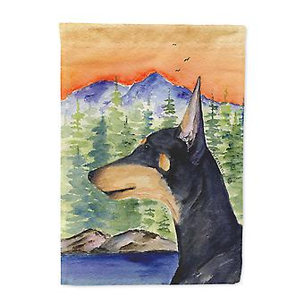 Carolines Treasures  SS8433-FLAG-PARENT Manchester Terrier Flag