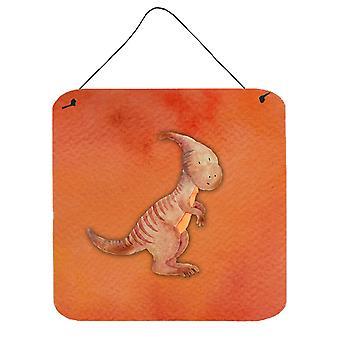 Acquerello di Parasaurolophus parete o porta appeso stampe