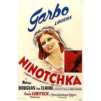 Ninotchka elokuvan juliste (11 x 17)