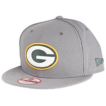 New era 9Fifty Snapback Cap - Green Bay Packers storm gray