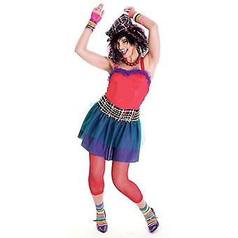 She's So 80s Disco Groupie Dress Up Women Costume