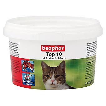BEAPHAR TOP 10 CAT MULTI VITAMIN TABLETS