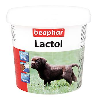 Beaphar Lactol Puppy Dog Cat Melk versterkt vitaminemelkpoeder 500g Whelping