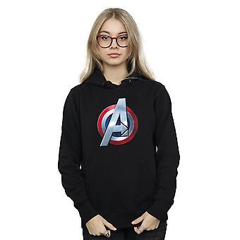Bewundern Sie Damen Avengers 3D Logo Hoodie