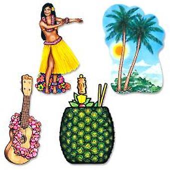 Hawaiian Luau lovea sisustus