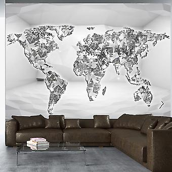 Fotobehang - Diamond map