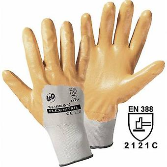 L+D worky Flex-Nitril 1496C Polyester Protective glove Size (gloves): 7, S EN 388 CAT II 1 pc(s)