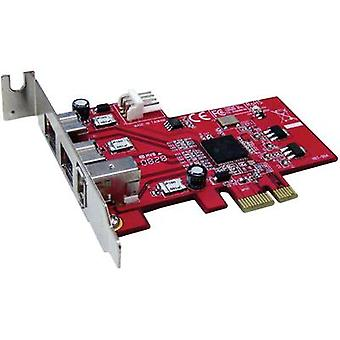 Renkforce 3 porty FireWire 800 karta kontrolera PCIe