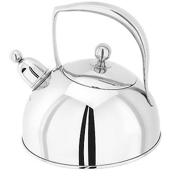 Stellar Stove Top, Bresor Polished Kettle, 2 Litre