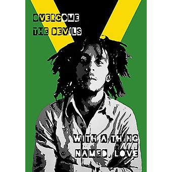 Bob Marley plakat collage