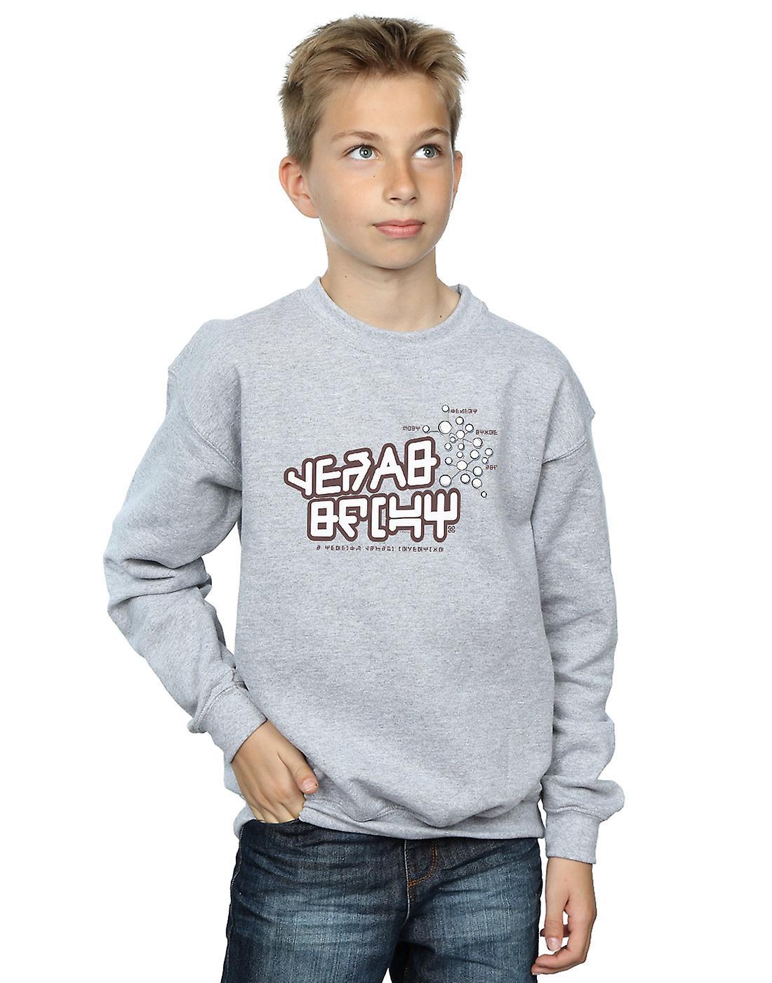 Marvel Boys Guardians Of The Galaxy Star Lord Text Sweatshirt
