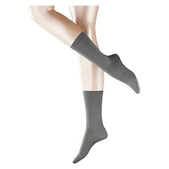 Falke Softmerino sukat - vaaleanharmaa