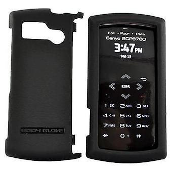 Body Glove Pro Snap-On Case for SCP6760 Sanyo Incognito - noir