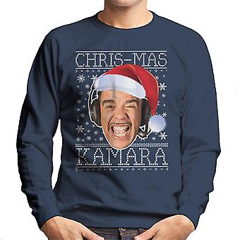 Chris Mas Kamara Christmas Knit Men's Sweatshirt