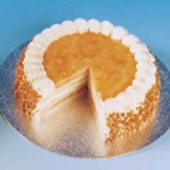 City Cakes Frozen Apricot Gateau