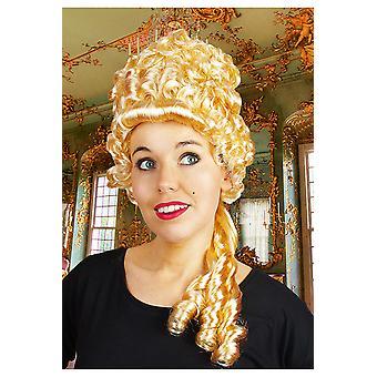 Parrucche medievale alta parrucca bionda