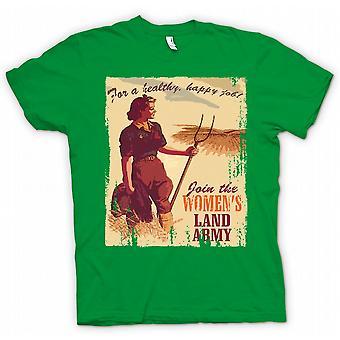 Детские футболки - присоединиться к армии женский земли