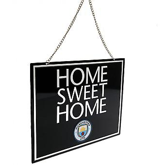 Manchester City FC Official Home Sweet Home Sign
