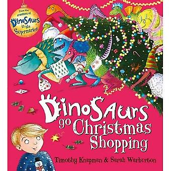 Dinozaury świąteczne zakupy