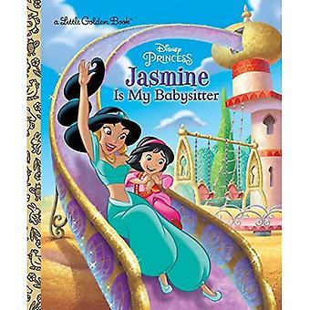 Jasmine är min barnvakt (Disney Princess) (liten gyllene bok)