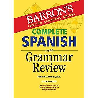 Slutföra spansk grammatik översyn