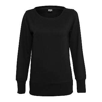 Urban classics ladies Sweatshirt side zip long