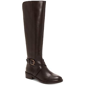 INC internationale begreber dame Fadora læder lukket tå knæ høj mode...