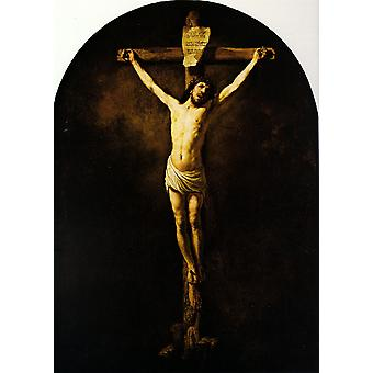 Christ on the Cross, Rembrandt, 60x43cm