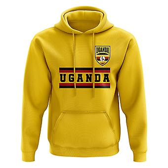 Uganda Core Football Country Hoody (Yellow)