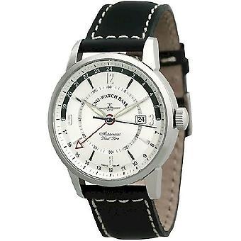 Zeno-Watch Herrenuhr Magellano (Dual Time) 6069GMT-g3