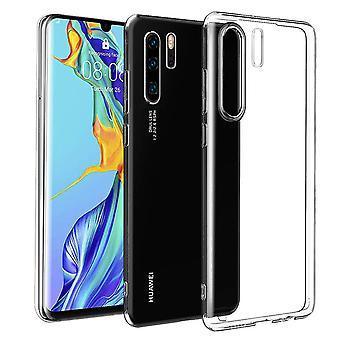 Huawei P30 Pro Handyhülle Case Hülle Silikon Transparent