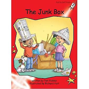 Red Rocket Readers - Early Level 1 Fiction Set B - The Junk Box Big Boo