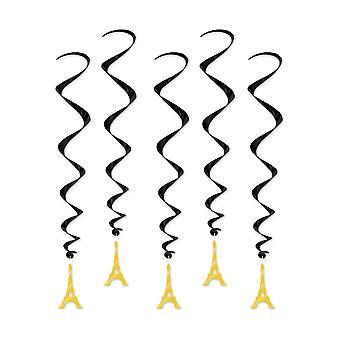 Eiffeltornet virvlar