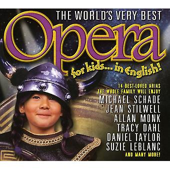 World's Very Best Opera for Kids - The World's Very Best Opera for Kids...in English! [CD] USA import