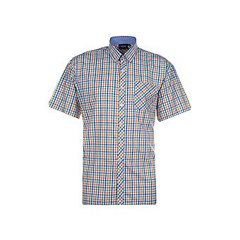 ESPIONAGE Espionage Check Short Sleeve Shirt