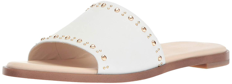 Cole Haan Femme Anica Stud Slide Flat Sandal