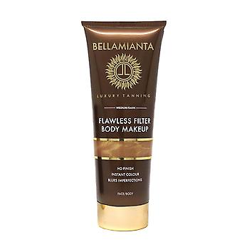 Bellamianta virheetön suodatin Body meikki Medium/Dark 100ml