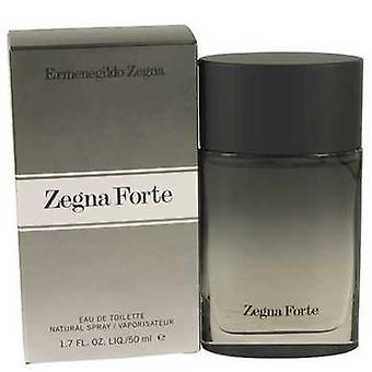 Zegna forte por Ermenegildo Zegna Eau de toilette spray 1,7 oz (homens) V728-535643