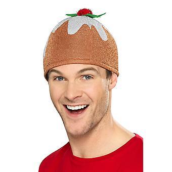 Karácsonyi puding hat Brown, karácsonyi jelmez kiegészítők