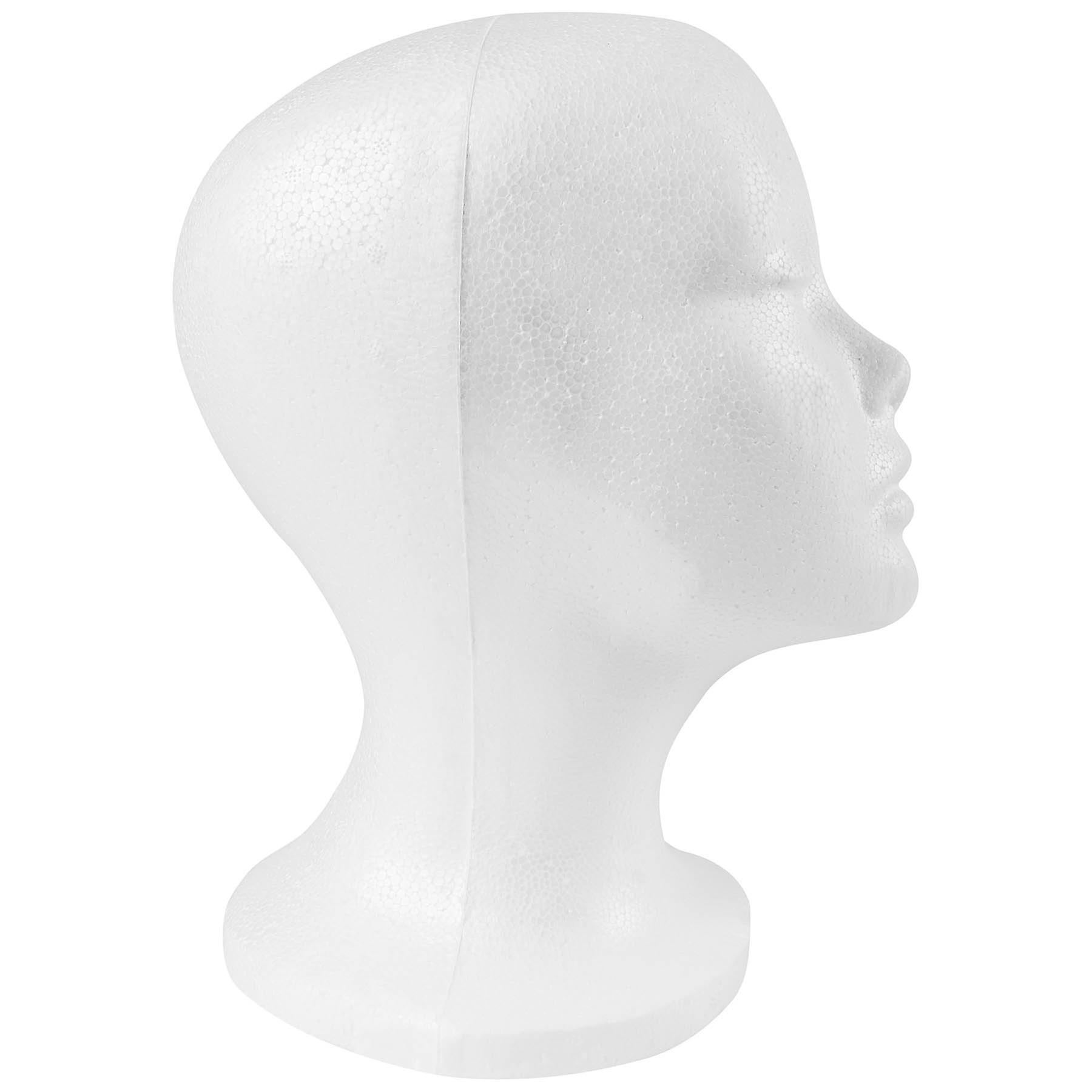 SHANY Styrofoam Model Heads/Hat Wig Foam Mannequin - 12