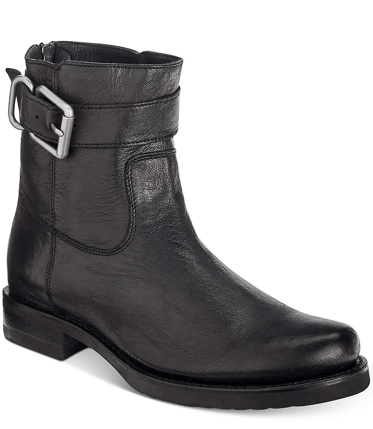 Frye Femme Veronica Cuir Round Toe Ankle Chelsea Bottes