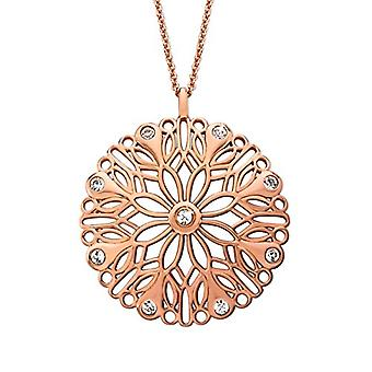 Noelani Necklace with Woman Brass Pendant - 2021497