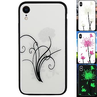 iPhone Xr Case Flowers - BackCover Magic Glass 2