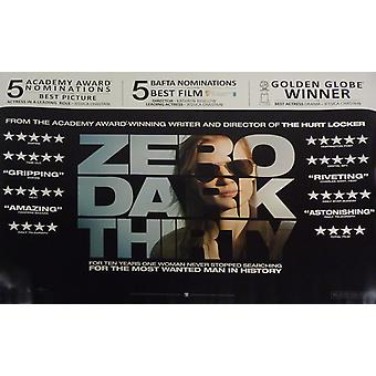 Zero Dark Thirty Poster Double Sided Awards Style (Quad) (2012) Original Cinema Poster