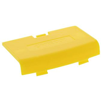 Replacement battery cover door for nintendo game boy advance - yellow