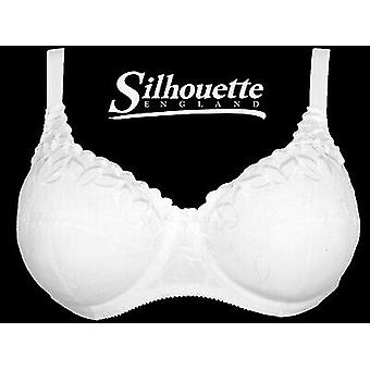 Silhouette Lingerie 'Fresco Collection' White Underwired Full Cup Bra