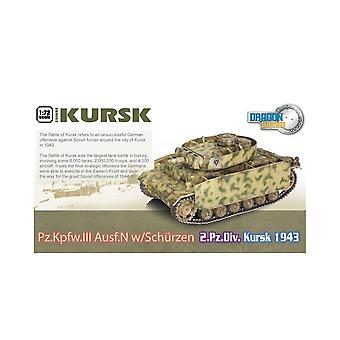 Dragon Armor Dragon Tank - 1:72 - 60614 Kursk Pz.Kpfw.III Aust.N W/Schurzen