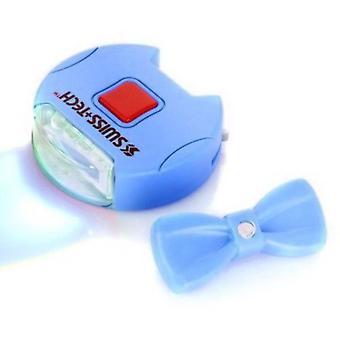 Swiss+Tech Pet Collar & Leash Light Set, Blue #ST13035