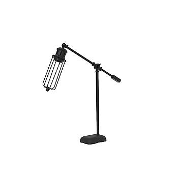 Light & Living Table Lamp 52x9,5x57 Cm DEVID Matted Black